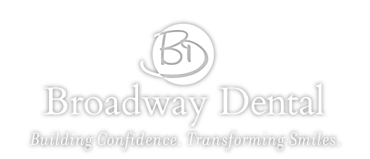 broadway dental logo grey